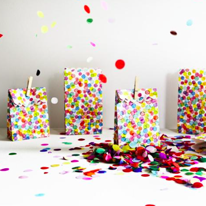 confetti lolly bags anyone?
