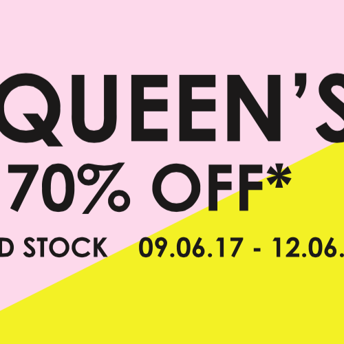 THE QUEEN'S SALE