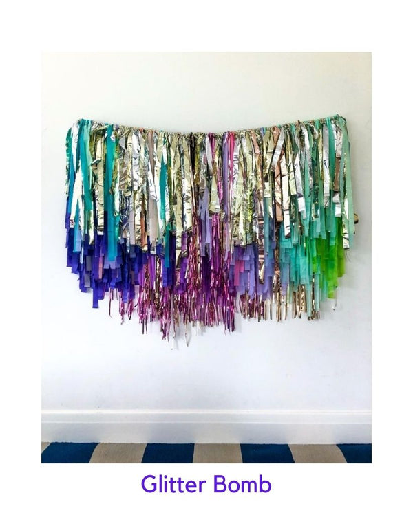 Custom Reusable Streamer Hanging