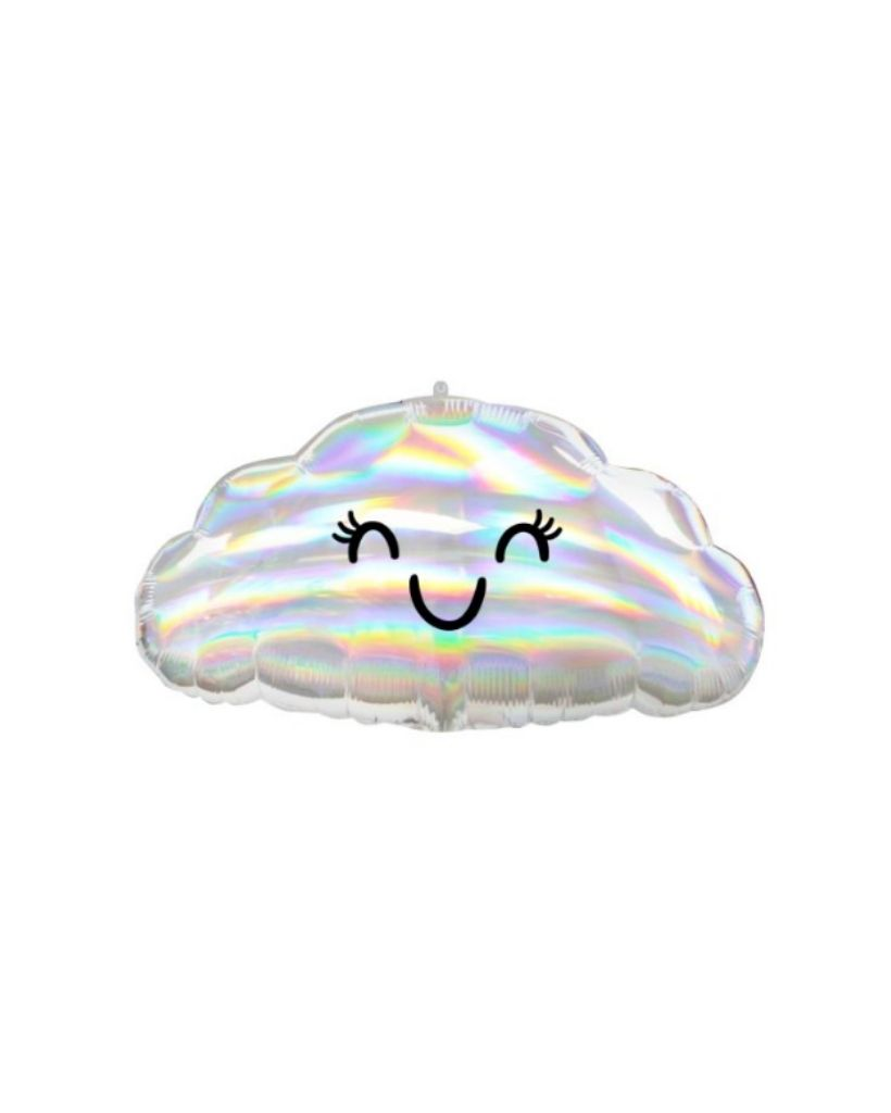 Iridescent Cloud Foil Balloon