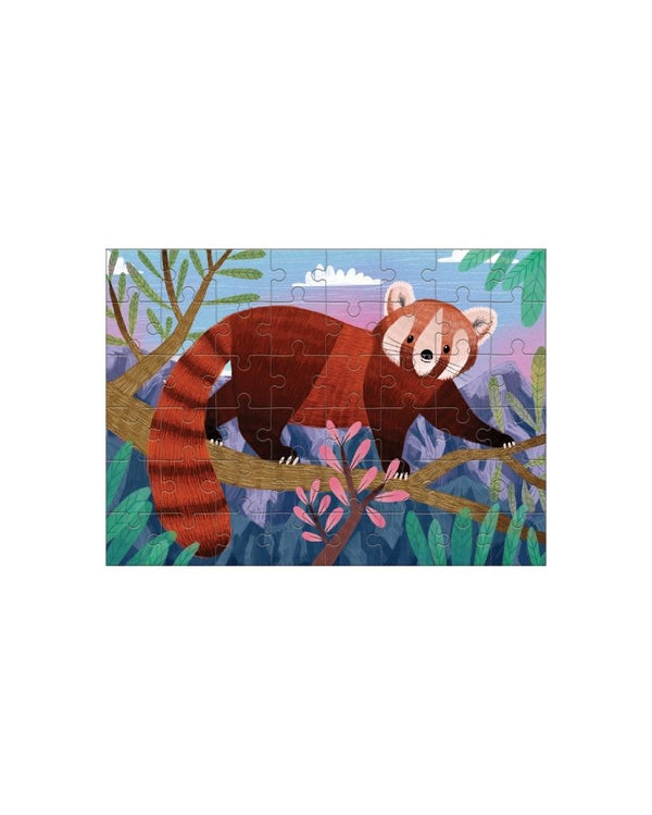 Red Panda 48pc Mini Puzzle