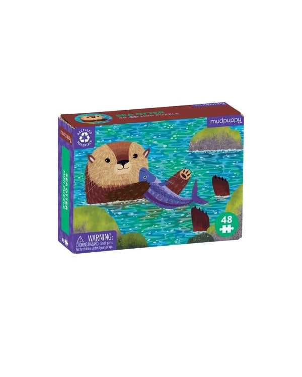 Sea Otter 48pc Mini Puzzle