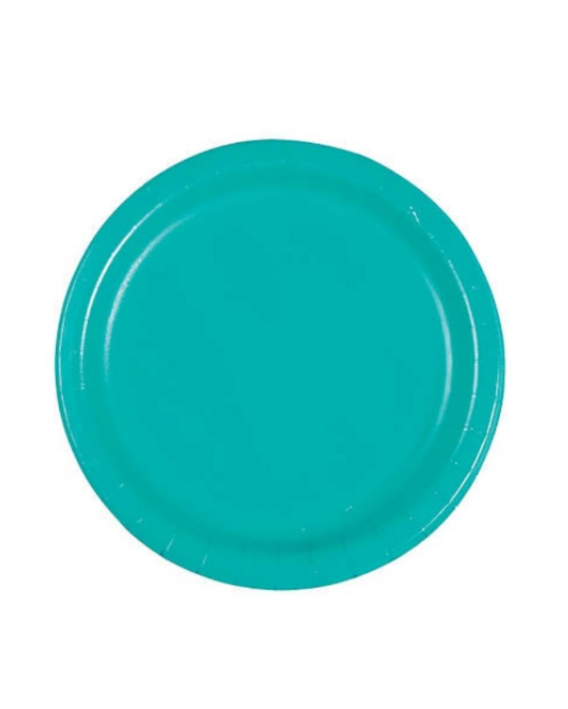 Large Lagoon Paper Plates