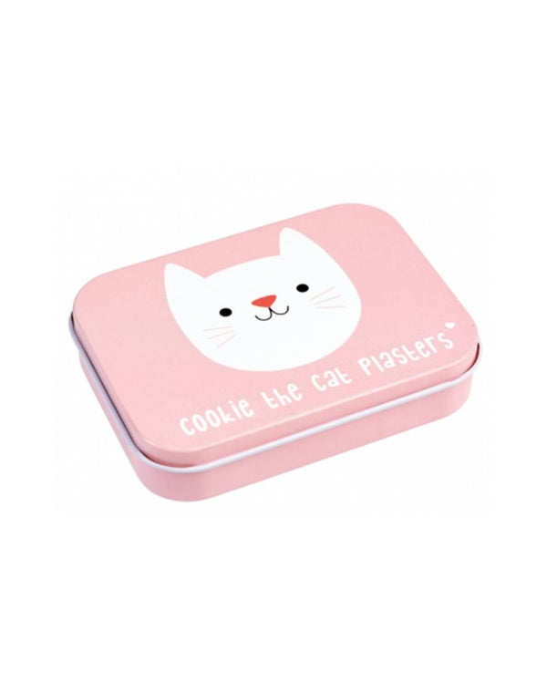 Cookie the Cat Plasters in a Tin