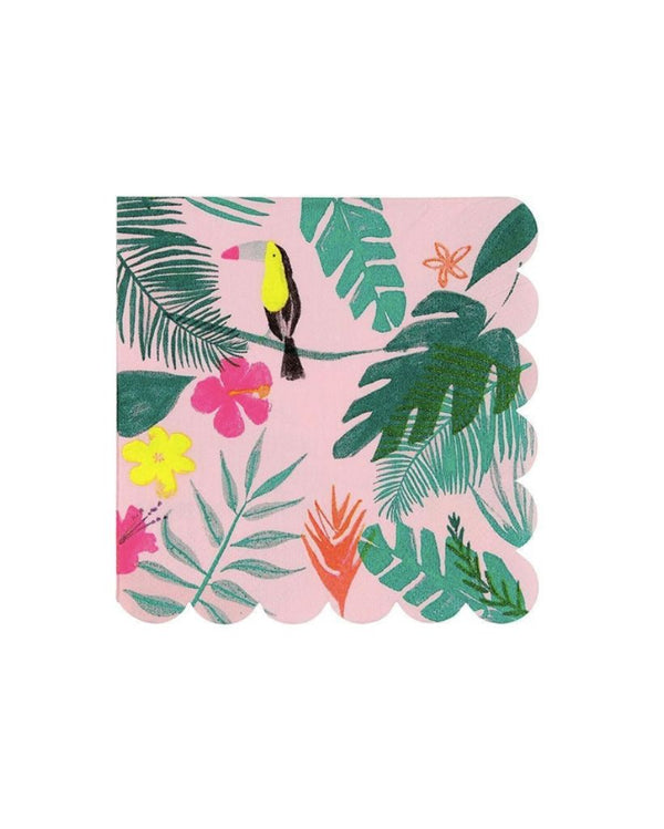 Tropical Pink Napkins