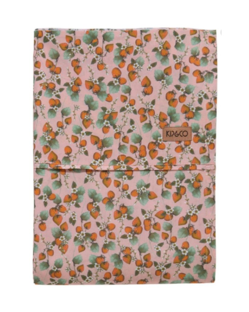 The Patch Peach Table Cloth (Flat Sheet)