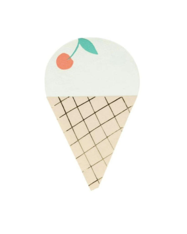 Ice Cream Napkin