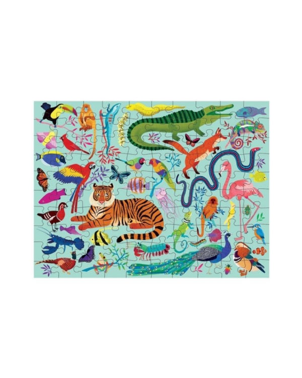 Animal Kingdom Double Sided Puzzle