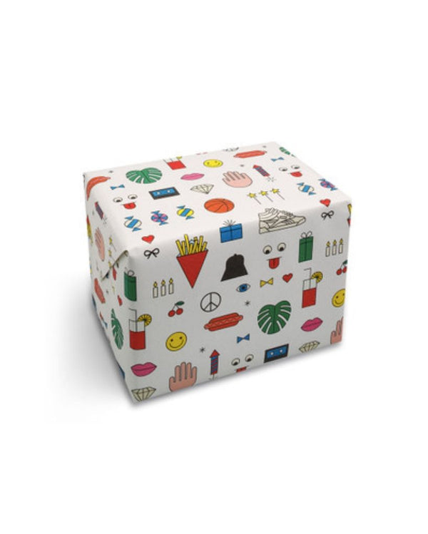 Birthday Mix Wrapping Paper