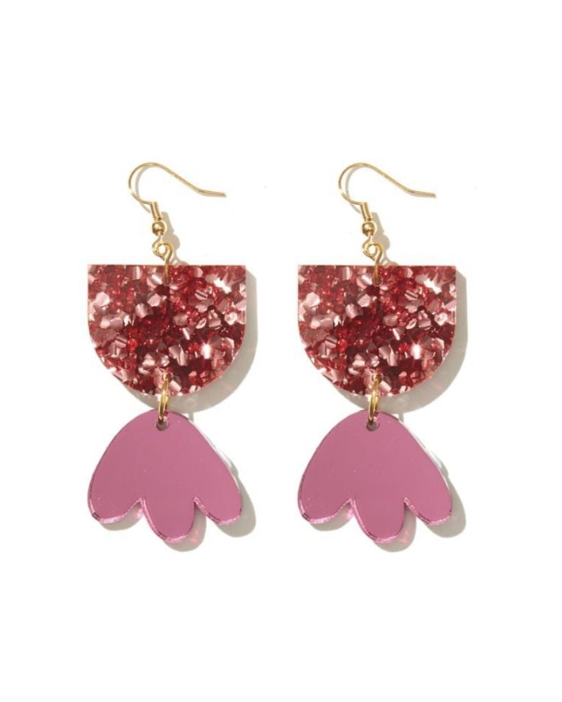 Pink Bambi Earrings