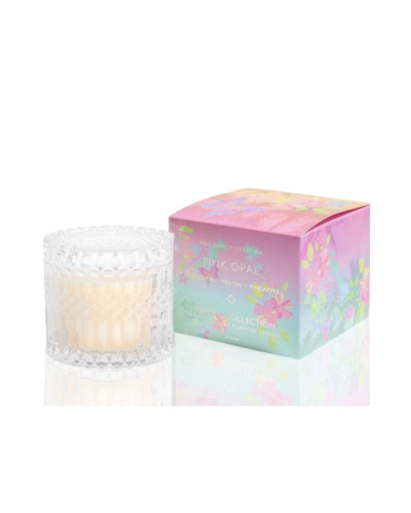 Pink Opal Large Candle