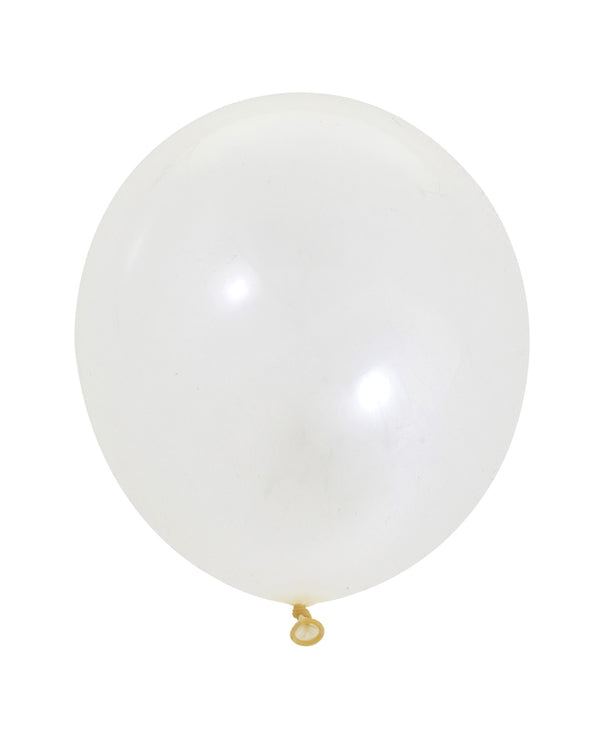 White Medium Balloon