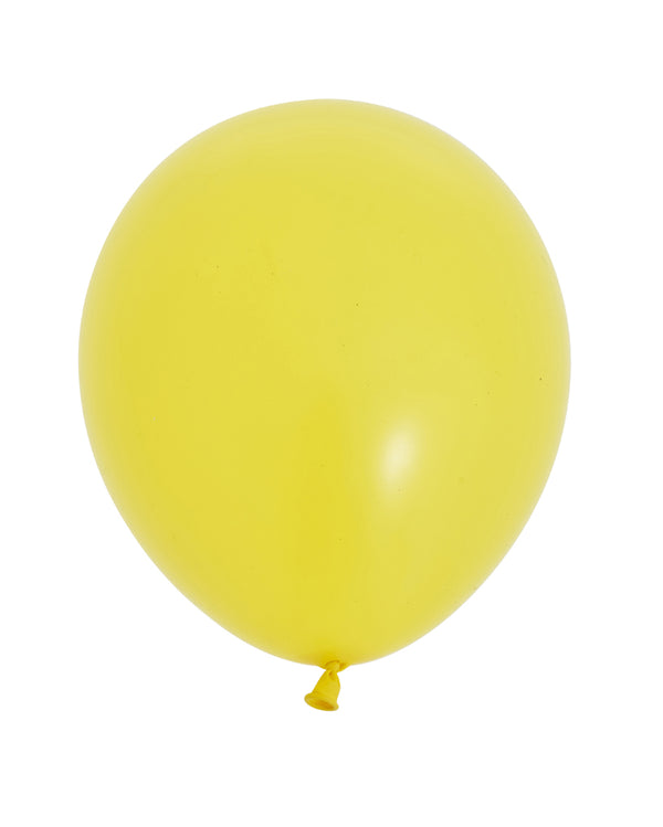 Yellow Medium Balloon