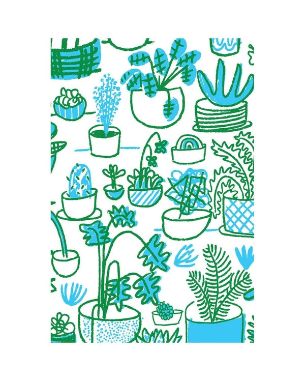 Plant People Wrapping Paper