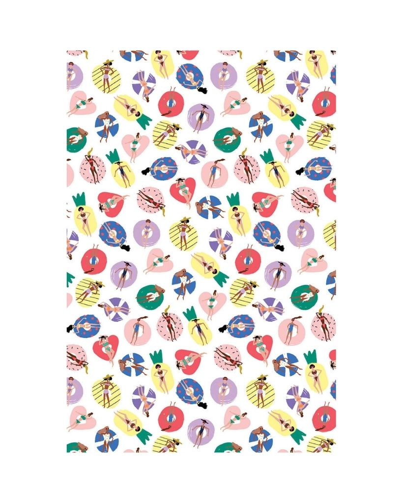 Pool Party Wrapping Paper
