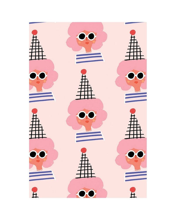 Party Girl Wrapping Paper