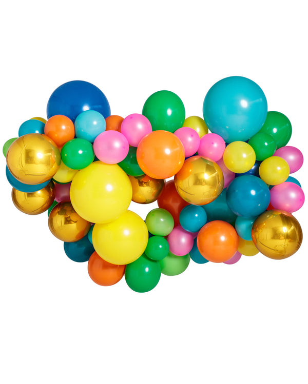 Extra Large Custom Balloon Garland with Orbs