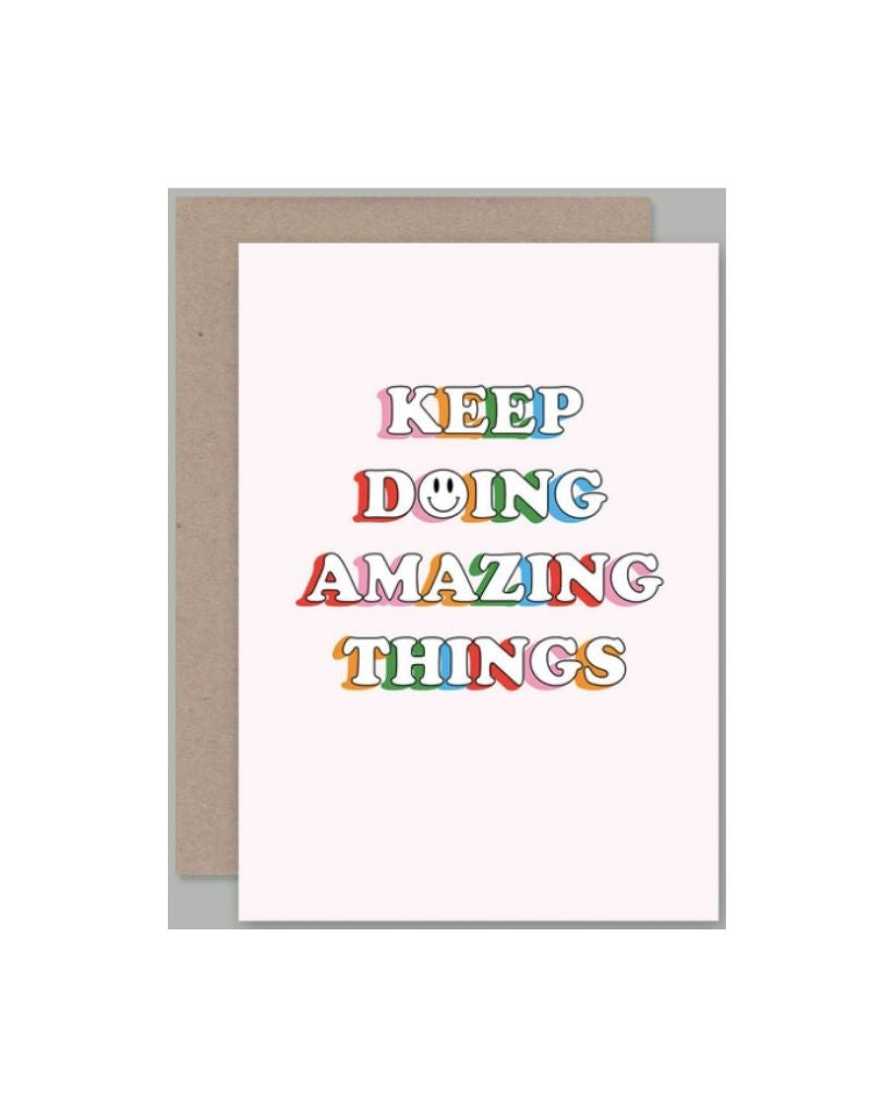 Amazing Things Card