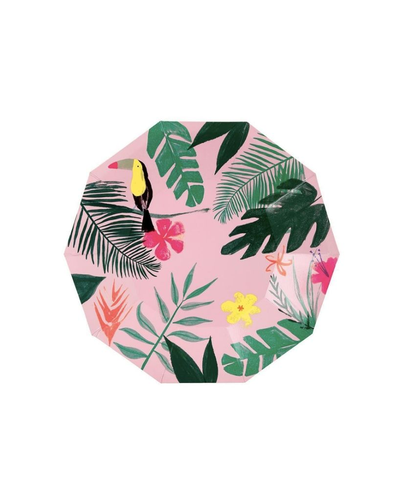 Tropical Pink Plate