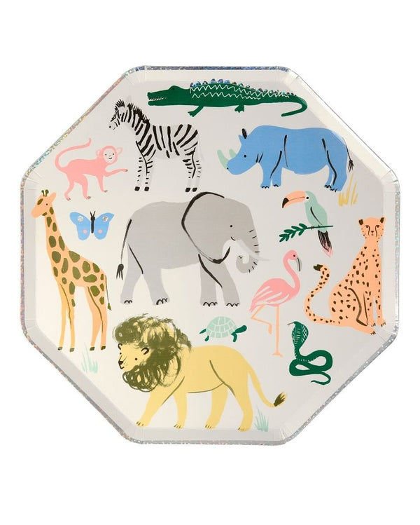 Safari Animal Large Plates