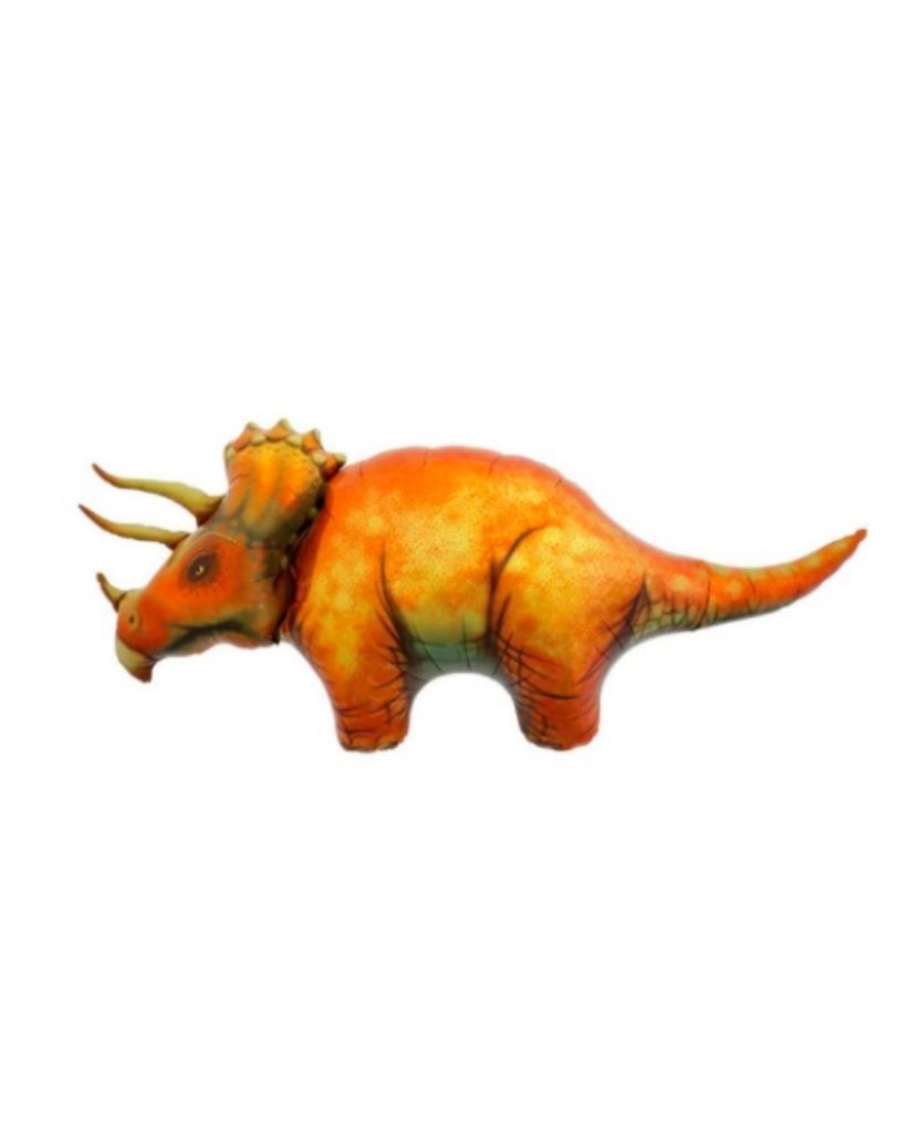 Triceratops Balloon Filled with Helium