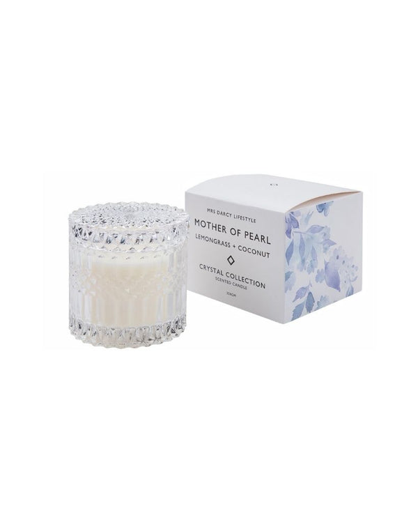 Mother of Pearl Large Candle