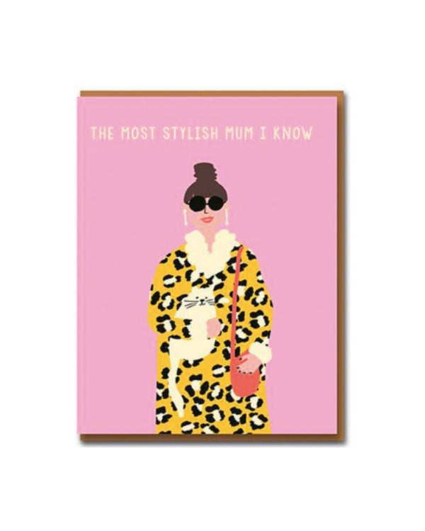 Stylish Mum Card
