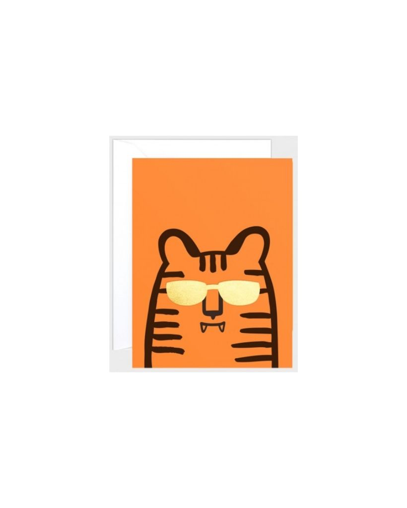 Tiger Wrap Card