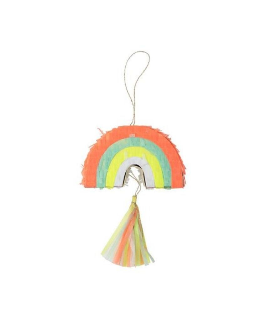 Mini Rainbow Pinata Party Favours