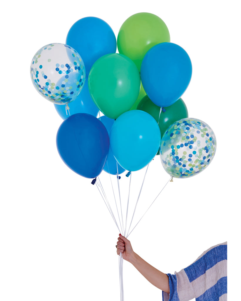 Handsome Balloon Set Filled with Helium