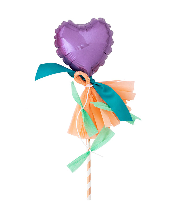Lavender Heart Fancy Pop