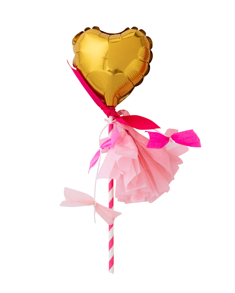 Gold Heart Fancy Pop