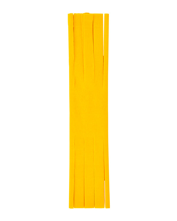 Yellow Fringed Crepe Paper