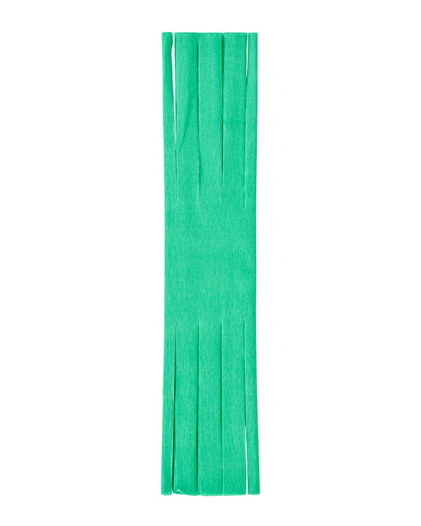 Mint Fringed Crepe Paper