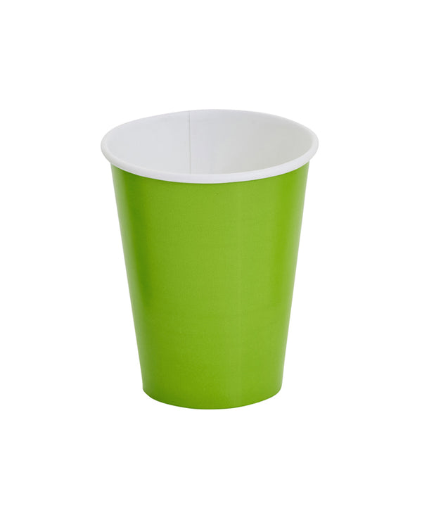 Lime Paper Cups