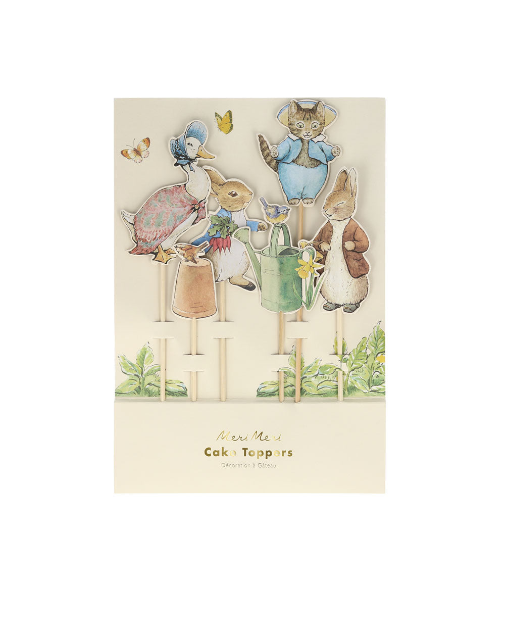 Peter Rabbit and Friends Cake Toppers