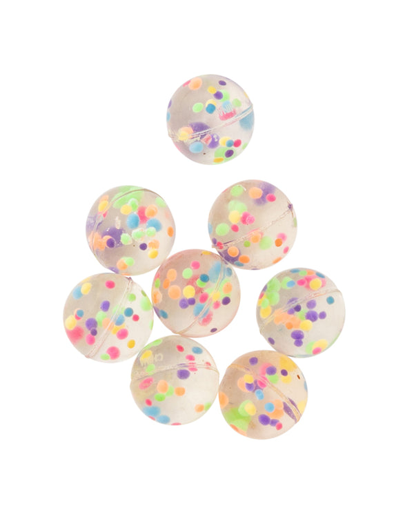 Mini Confetti Bouncy Ball