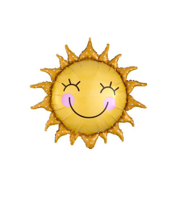 Happy Sun Foil Balloon
