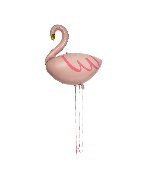 Fancy Flamingo Balloon with Helium