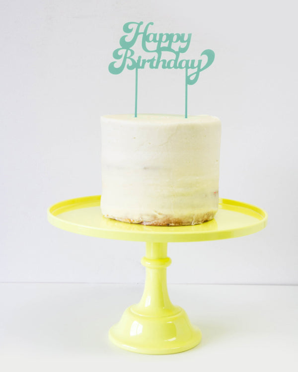 Caribbean Happy Birthday Cake Topper