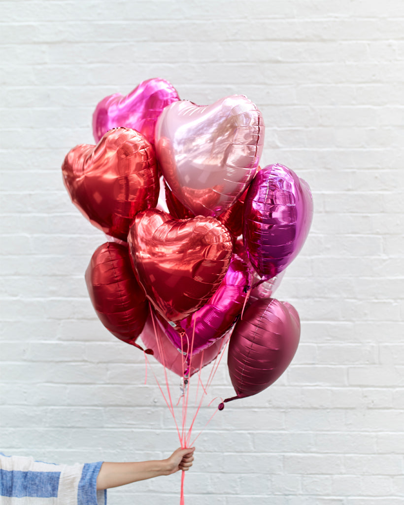 Love Is A Battlefield Balloons Filled with Helium