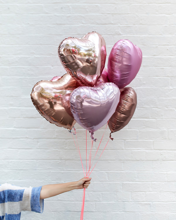 Total Eclipse of the Heart Balloons Filled with Helium
