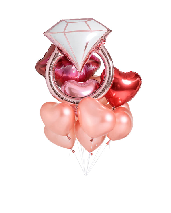 Always and Forever Balloon Bouquet