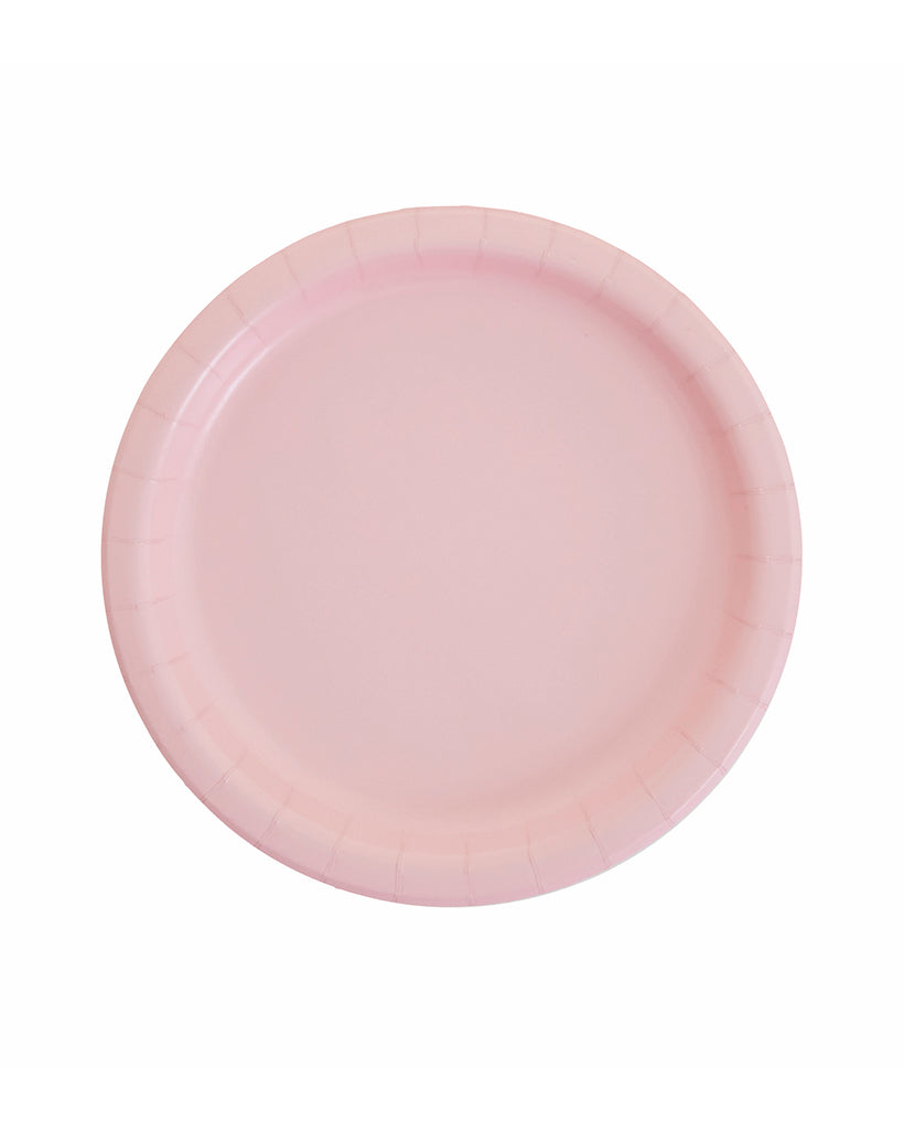 Large Pink Paper Plates