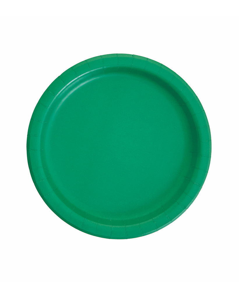 Large Emerald Paper Plates
