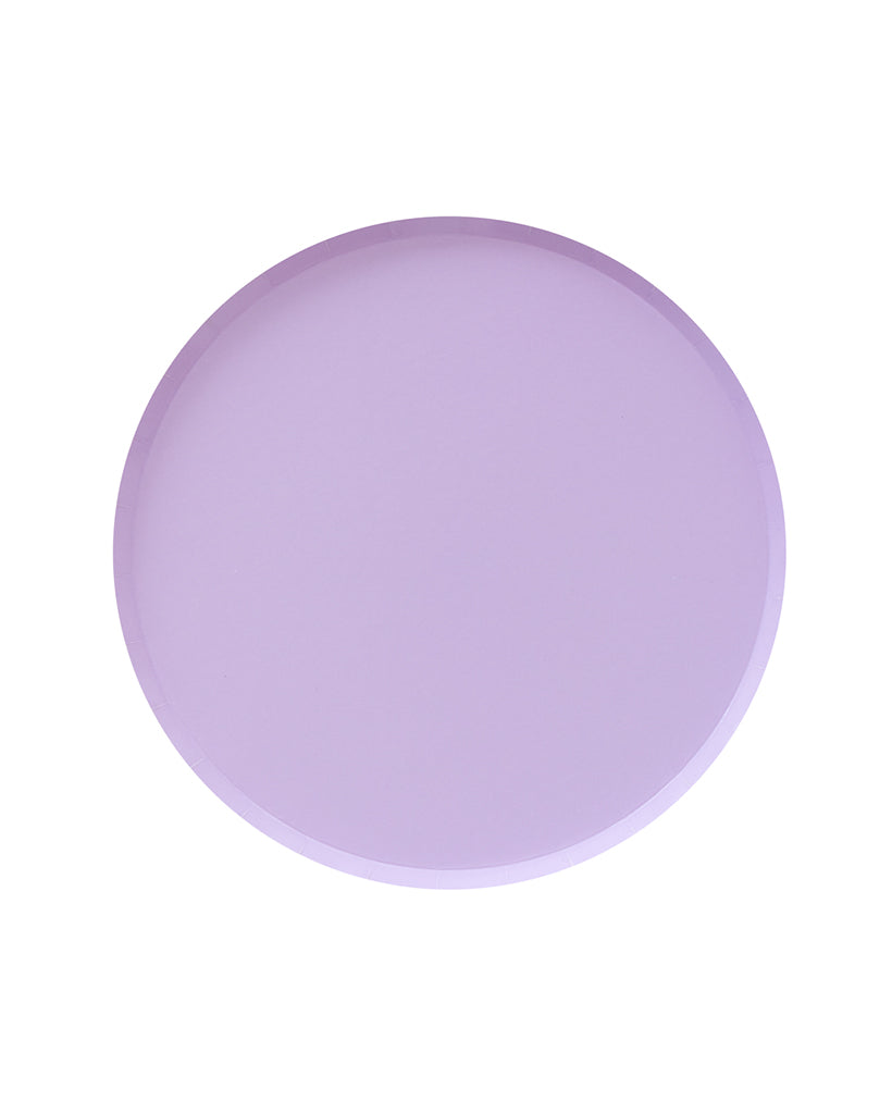 Oh Happy Day Lilac Large Plate Set