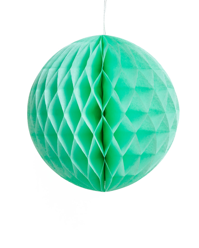 Large Mint Honeycomb Ball