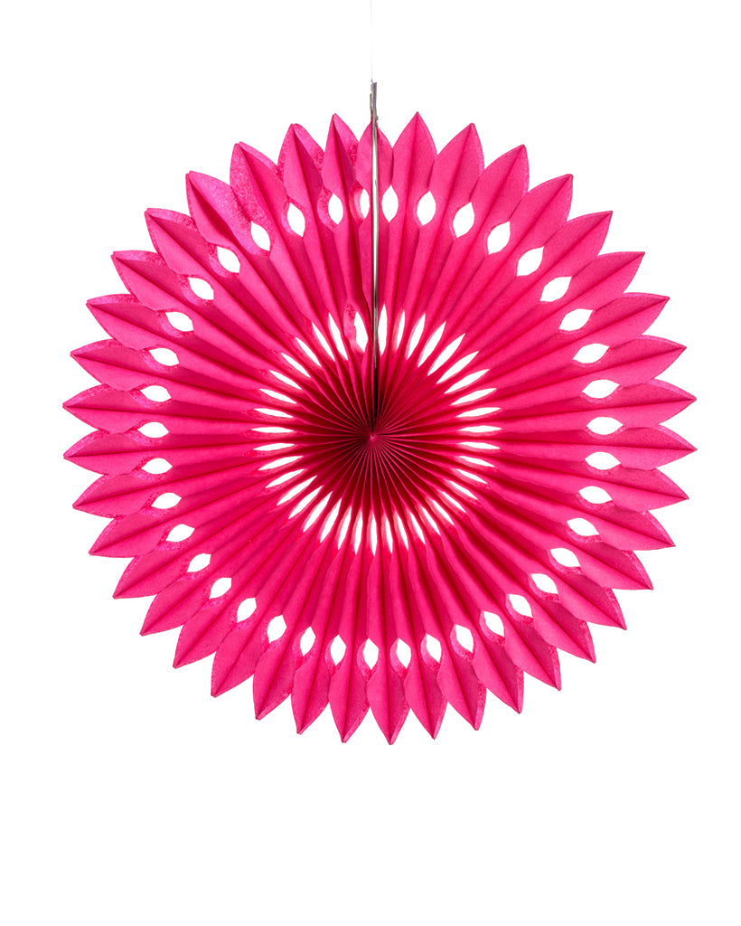Large Fuchsia Fan