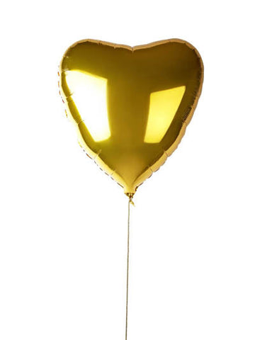 gold jumbo heart balloon