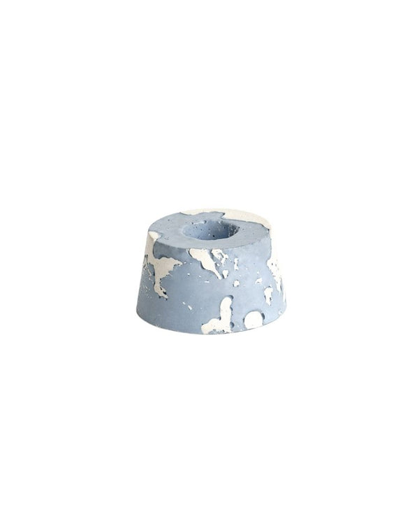 Marble Grey Candle Holder